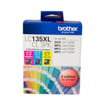 Image for Brother LC135XL Yell Ink Cart up to 1200 pages Yellow AusPCMarket