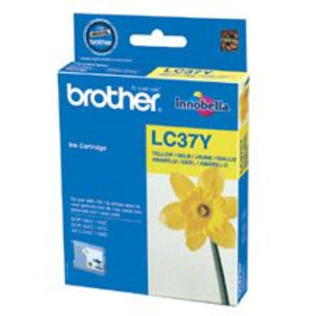 Image for Brother LC37Y Yellow Cartridge AusPCMarket