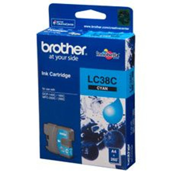 Image for Brother LC38C Cyan Ink Cartridge 260 pages AusPCMarket