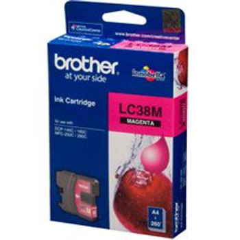 Image for Brother LC38M Magenta Ink Cartridge AusPCMarket