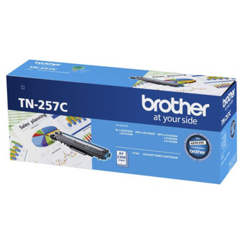 Image for Brother TN-257C Cyan High Yield Toner Cartridge AusPCMarket