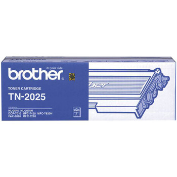 Image for Brother TN-2025 Black Toner 2.5K pages (TN2025) AusPCMarket