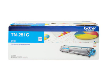 Image for Brother TN-251C Cyan Toner Cartridge - Up to 1,400 Pages AusPCMarket
