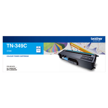 Image for Brother TN-349C Toner Cartridge Super High Yield (Cyan) AusPCMarket