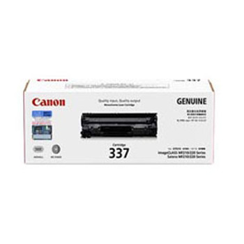 Image for Canon 337 Black Toner Cartridge 2,100 pages Black AusPCMarket