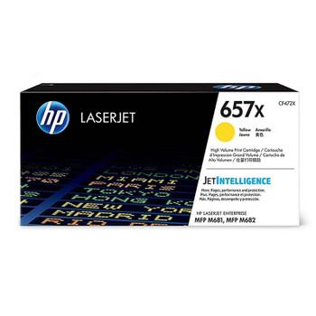 Image for HP657X LaserJet Toner Cartridge - Yellow (CF472X) AusPCMarket