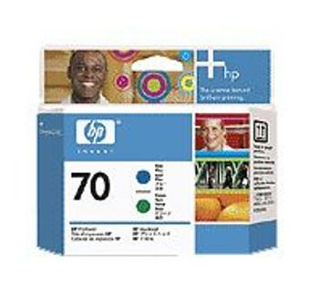 Image for HP 70 Blue & Green Printhead for Designjet (C9408A) AusPCMarket