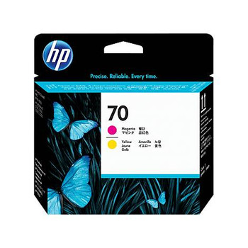 Image for HP 70 130ml Magenta & Yellow Printhead (C9406A) AusPCMarket