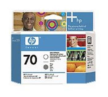 Image for HP 70 Gloss Enhancer & Gray Printhead for Designjet AusPCMarket