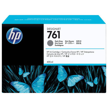 Image for HP 761 400ML DesignJet Ink Cartridge - Dark Gray (CM996A) AusPCMarket