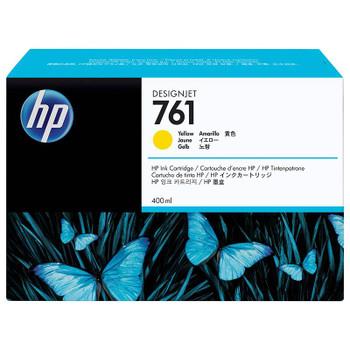 Image for HP761 400ML DesignJet Ink Cartridge - Yellow (CM992A) AusPCMarket