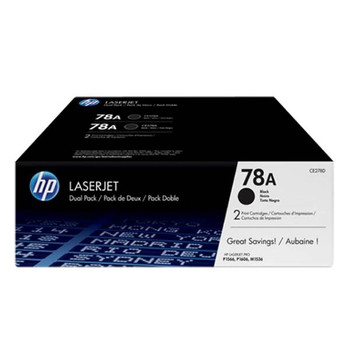 Image for HP 78A Twin-Pack LaserJet Toner Cartridge - Black (CE278AD) AusPCMarket