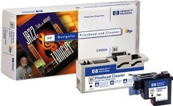 Image for HP 81 Black Printhead+Cleaner (C4950A) AusPCMarket