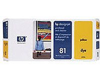 Image for HP 81 Yellow Dye Printhead and Cleaner (C4953A) AusPCMarket