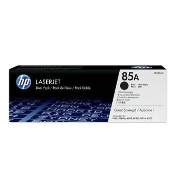 Image for HP85A Twin-Pack LaserJet Toner Cartridge - Black (CE285AD) AusPCMarket
