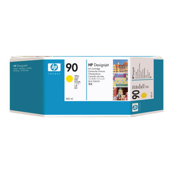 Image for HP 90 Yellow 400ml Ink Cartridge (C5065A) AusPCMarket