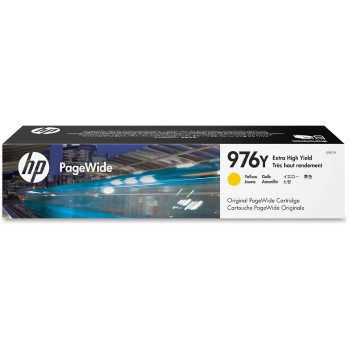 Image for HP 976Y Extra High Yield Yellow Original PageWide Cartridge (L0R07A) AusPCMarket