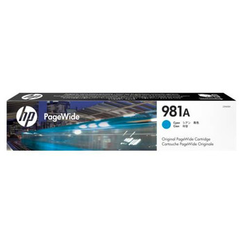 Image for HP 981A Cyan Original PageWide Cartridge (J3M68A) AusPCMarket