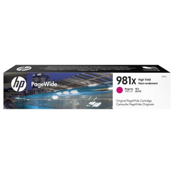 Image for HP 981X High Yield Magenta Original PageWide Cartridge (L0R10A) AusPCMarket