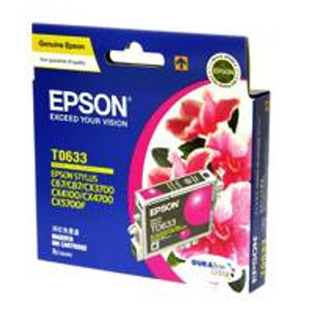 Image for Epson T0633 Stylus Magenta Ink 380 pages (T063390) AusPCMarket