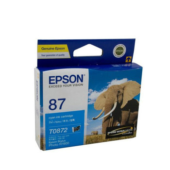 Image for Epson 87 - UltraChrome Hi-Gloss2 - Cyan Ink Cartridge 915 pages AusPCMarket