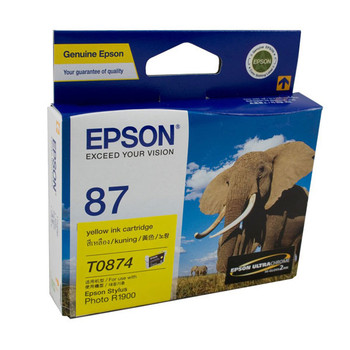 Image for Epson T0874 Yellow Ink 915 pages Yellow AusPCMarket