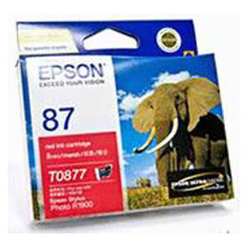 Image for Epson T0877 Red Ink 915 pages Red AusPCMarket