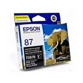 Image for Epson 87 - UltraChrome Hi-Gloss2 - Matte Black Ink Cartridge 520 pages AusPCMarket