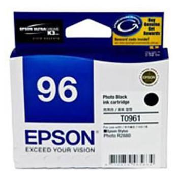 Image for Epson T0961 Photo Blk Ink Cart 495 pages Photo Black AusPCMarket
