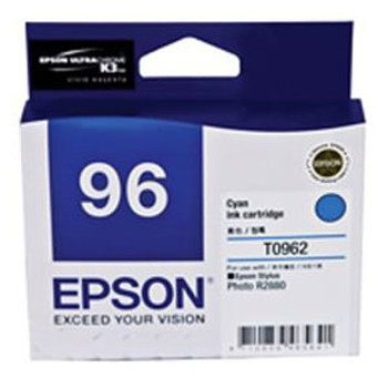 Image for Epson T0962 Cyan Ink Cartridge 940 pages Cyan AusPCMarket