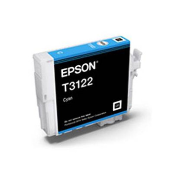 Image for Epson T3122 UltraChrome Hi-Gloss2 Cyan Ink Cartridge AusPCMarket