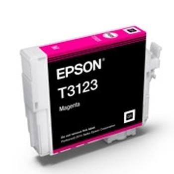 Image for Epson T3123 UltraChrome Hi-Gloss2 Magenta Ink Cartridge AusPCMarket