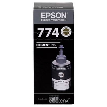 Image for Epson T774 Black EcoTank Ink Bottle AusPCMarket