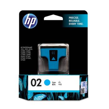 Image for HP 02 AP Cyan Ink Cartridge (C8771WA) AusPCMarket