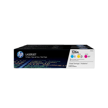 Image for HP #126A Tri Colour Toner Cartridge Pack (CF341A) AusPCMarket