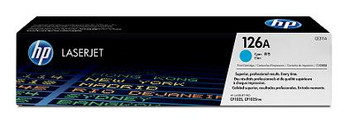 Image for HP 126A Cyan LaserJet Toner Cartridge (CE311A) AusPCMarket