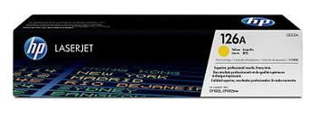 Image for HP 126A Yellow LaserJet Toner Cartridge (CE312A) AusPCMarket
