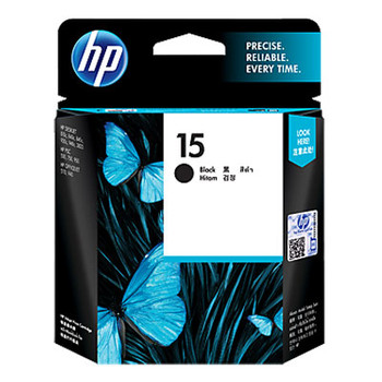 Image for HP #15 Black Ink Cartridge C6615DA 500 pages AusPCMarket