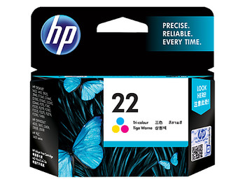 Image for HP 22 AP Tricolour Inkjet Cartridge 140K pg (C9352AA) AusPCMarket