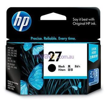 Image for HP 27 Black Inkjet Cartridge 220 pages (C8727AA) AusPCMarket