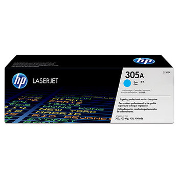 Image for HP 305A Cyan LaserJet Toner Cartridge (CE411A) AusPCMarket