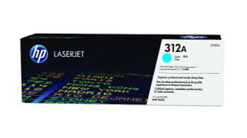 Image for HP CF381A 312A Cyan LaserJet Toner Cartridge AusPCMarket