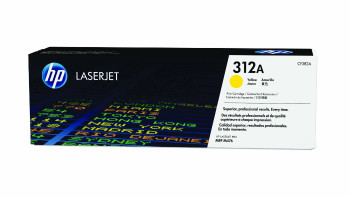 Image for HP CF382A 312A Yellow LaserJet Toner Cartridge AusPCMarket