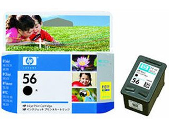 Image for HP 56 Black Inkjet Cartridge (C6656AA) AusPCMarket