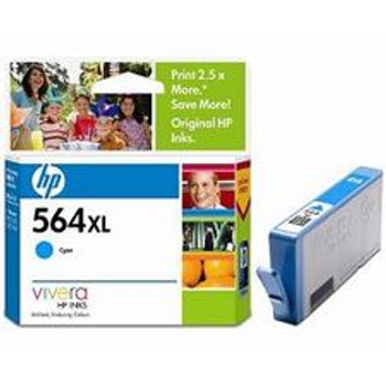 Image for HP 564XL Cyan Ink Cartridge for Photosmart  (CB323WA) AusPCMarket