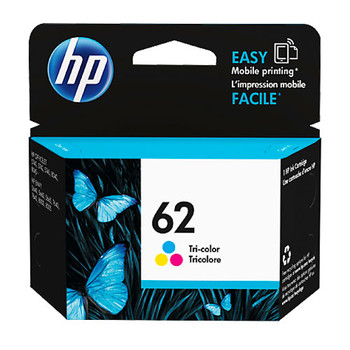 Image for HP #62 Tri Colour Ink Cartridge C2P06AA 165 pages AusPCMarket