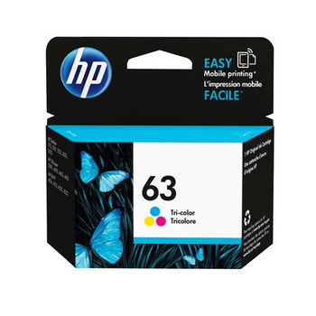 Image for HP #63 Tri Colour Ink Cartridge 165 pages (F6U61AA) AusPCMarket
