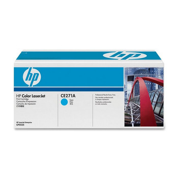 Image for HP 650A Cyan LaserJet Toner Cartridge (CE271A) AusPCMarket