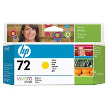 Image for HP 72 130-ml Yellow Ink Cartridge for Designjet C9373A AusPCMarket