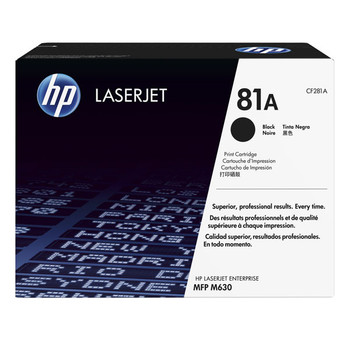 Image for HP #81A Black Toner CF281A 10,500 pages AusPCMarket